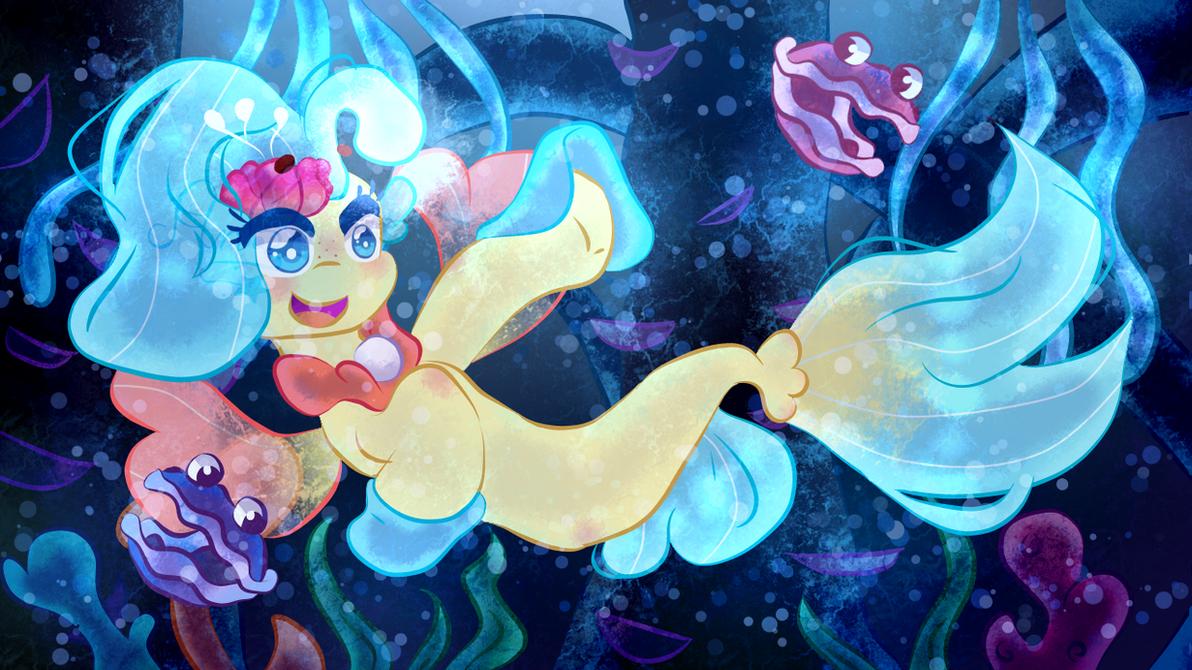 Underwater princess by CometSparke