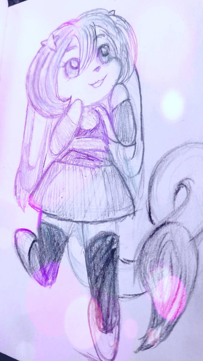 Shuri - chibi sketch by Demi