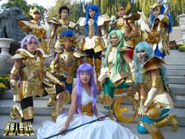 Cos: Convene Golden Saints by StormSoon