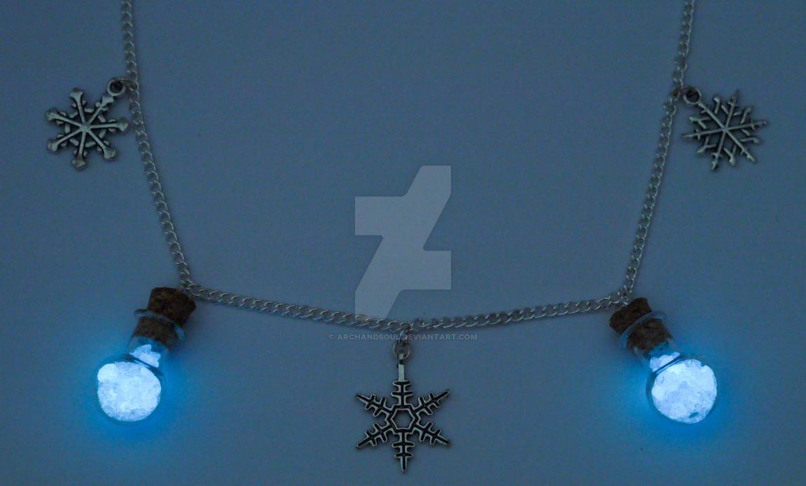Cooling Necklaces That You Freeze : Queen elsa frozen necklace by archandsoul on deviantart