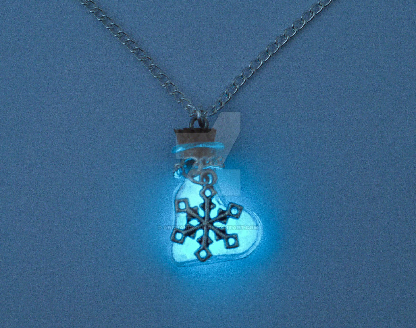 Cooling Necklaces That You Freeze : Glowing frozen necklace by archandsoul on deviantart
