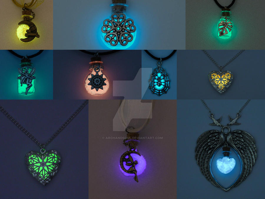 amazing glow in the dark resin jewelry zarems arts. Black Bedroom Furniture Sets. Home Design Ideas