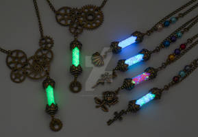 Steampunk and Fairy Vials