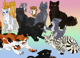 Favorite Warrior Cats by TheWrathofEnvy