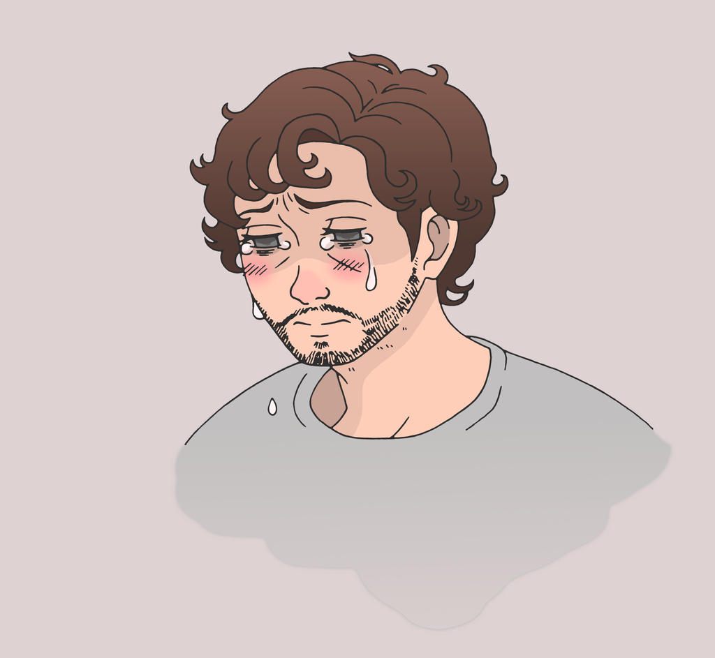 doodle of crying will by teddybear93 on deviantart