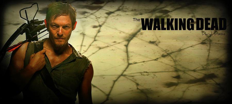 Daryl Dixon By Evymonster9406 Walking Dead Wallpaper