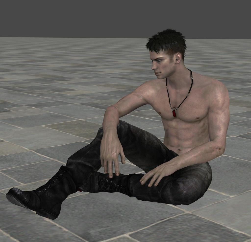 Dante-sitting by Evymonster9406