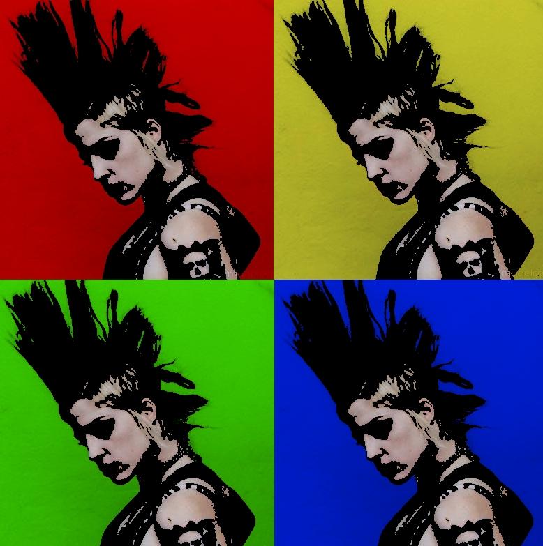 brody dalle punk pop art by viciousdestroy on DeviantArt