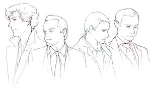 Men in Sherlock