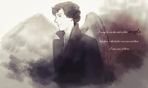 Sherlock is no angel