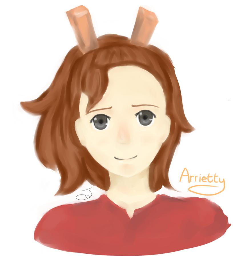 Arrietty by j-hauyan