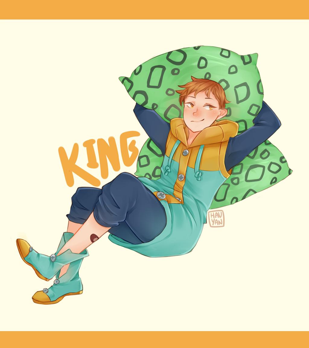 King by j-hauyan