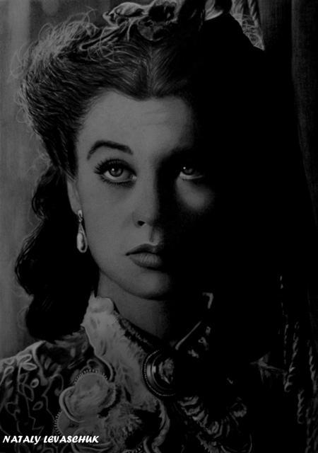 Vivien Leigh by NLevaschuk