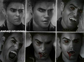 Stefan Salvatore...Ripper by NLevaschuk