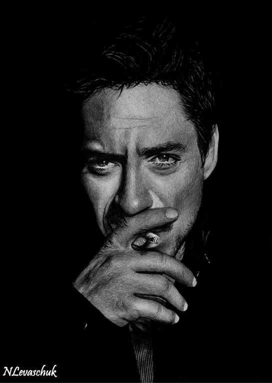 Robert Downey Jr. IV by NLevaschuk