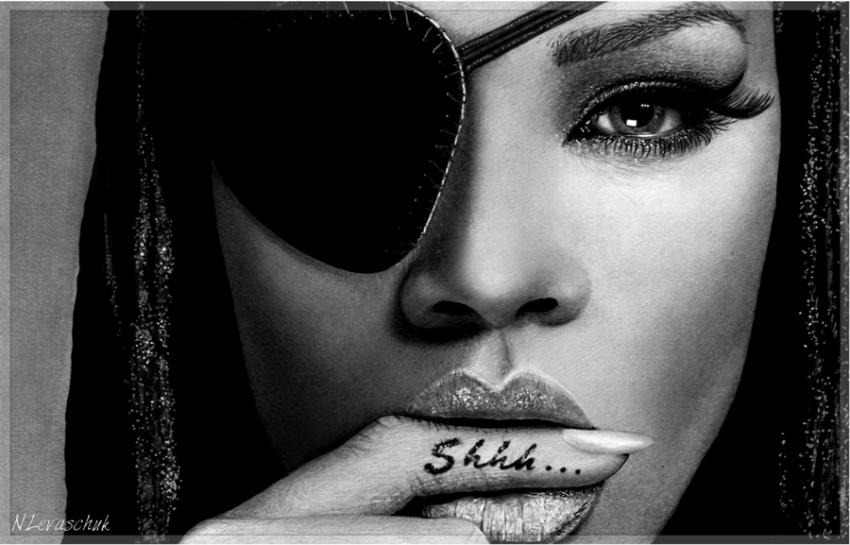 Rihanna by NLevaschuk