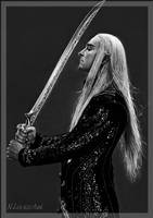 King Thranduil Lee Pace 2 by NLevaschuk