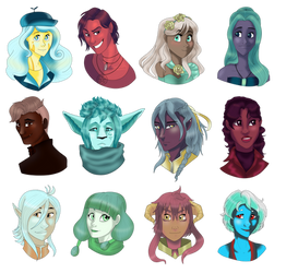 :WT: Palette Challenge Batch #3 by Sironae