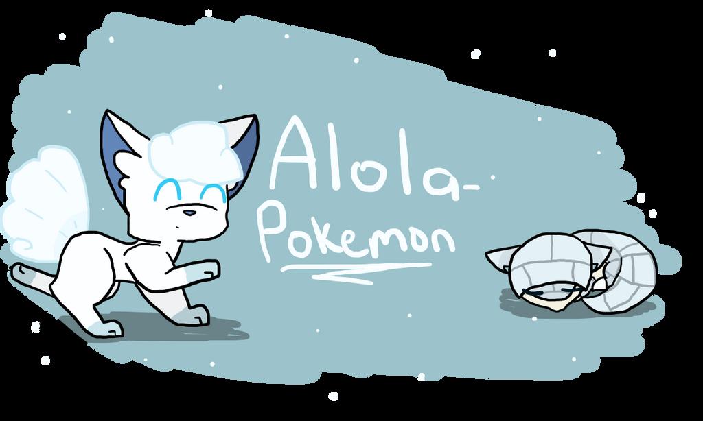 Alola Pokemon Deviantart