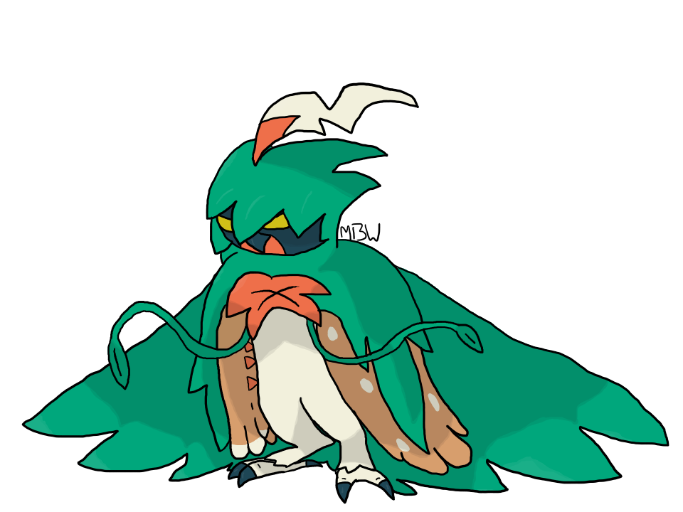 decidueye and chestnaught trying - photo #5