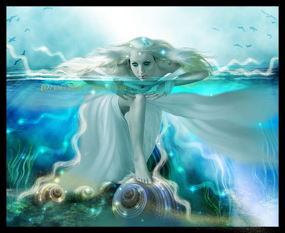 sous marine fantasie by roserika