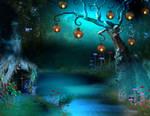 arbre lanterne