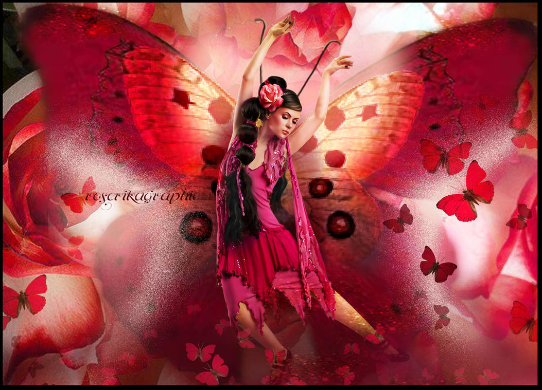 Papillonrouge by roserika