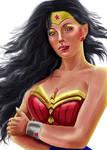 Wonderwoman by roserika