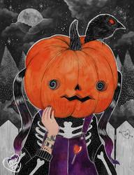 Gosh! I'm a Pumpkin I