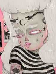 Teenage Ghoul by l0ll3