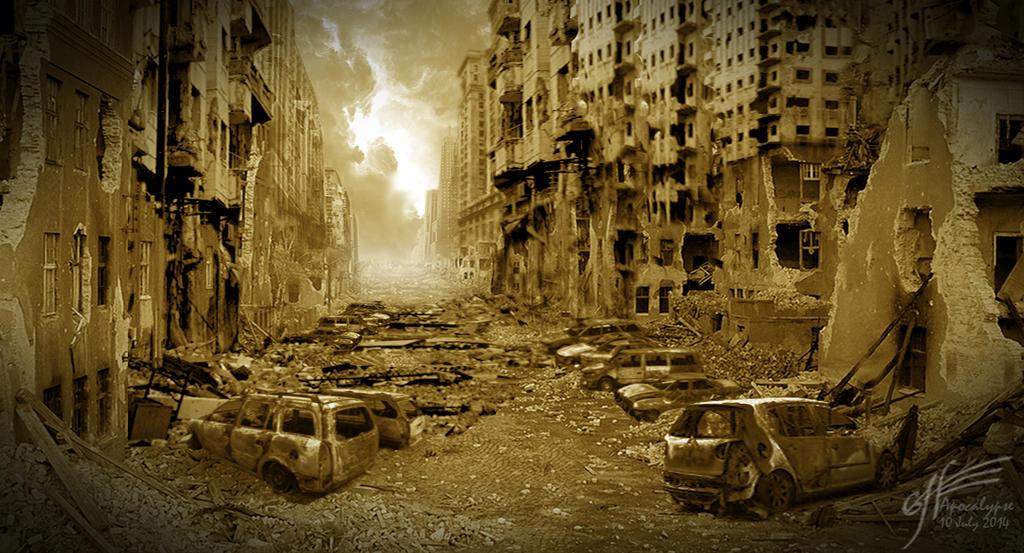 Apocalypse Scene 03 by StrainedEye