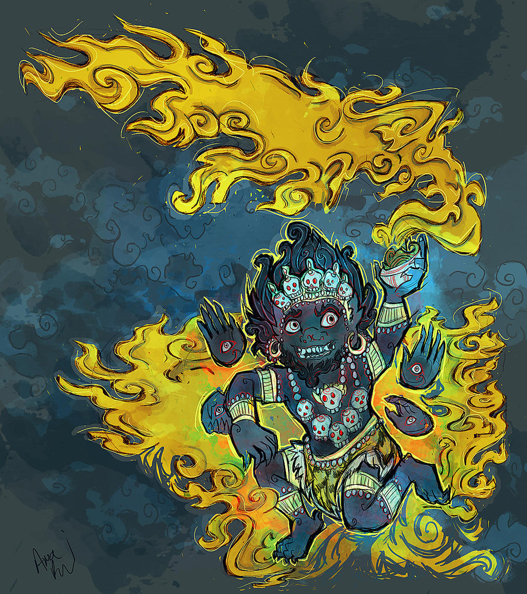 Cute Mahakala By Snail-lady On DeviantArt