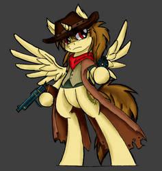 Gunslinger Kat by ZIOM5000