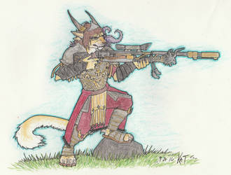 Katya Ironstead - Guild Wars 2 by ZIOM5000