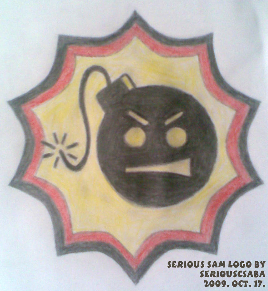 Serious Sam Logo by SeriousCsaba