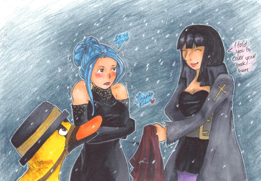 Snowy by NatterJay