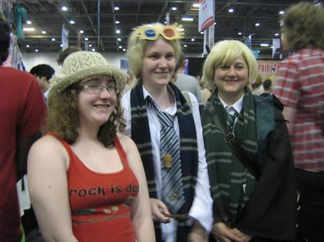 May 2012 Expo - Luna, Draco and Hazel