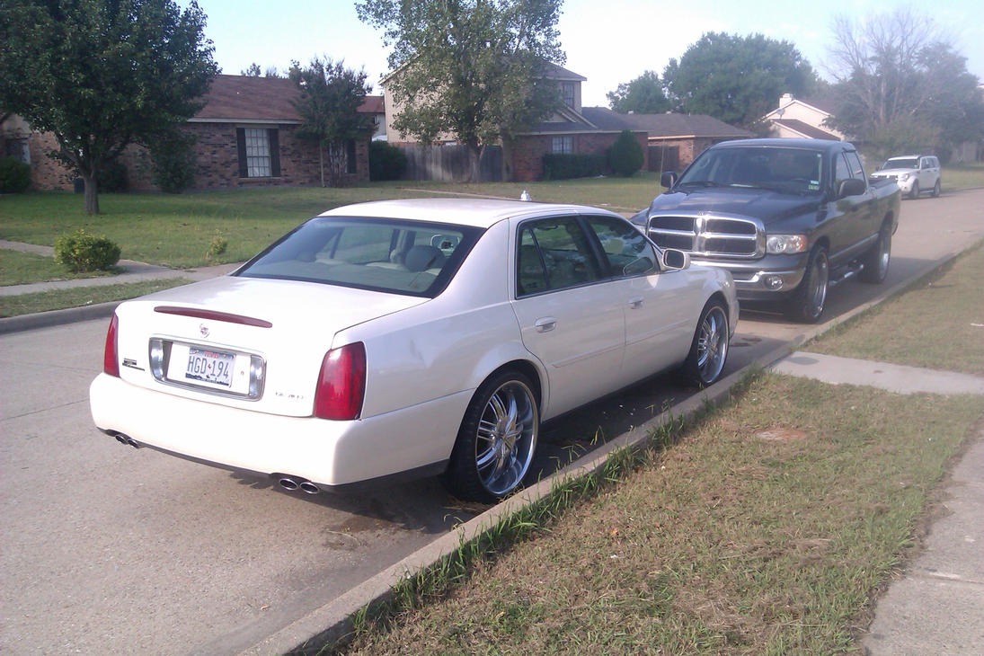 2005 cadillac deville customized 2 by tr0llhammeren