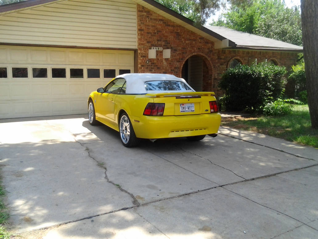 2004 Ford Mustang Convertible Donk By Tr0llhammeren On Deviantart