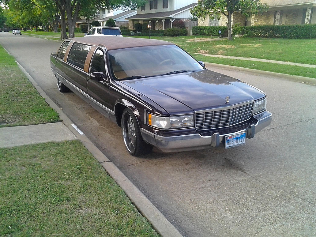 1993 cadillac fleetwood brougham limo donk by tr0llhammeren on. Cars Review. Best American Auto & Cars Review