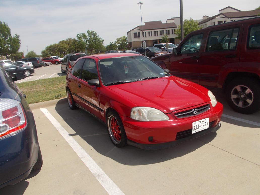 Great 1999 Honda Civic DX [Ricer] By TR0LLHAMMEREN ...
