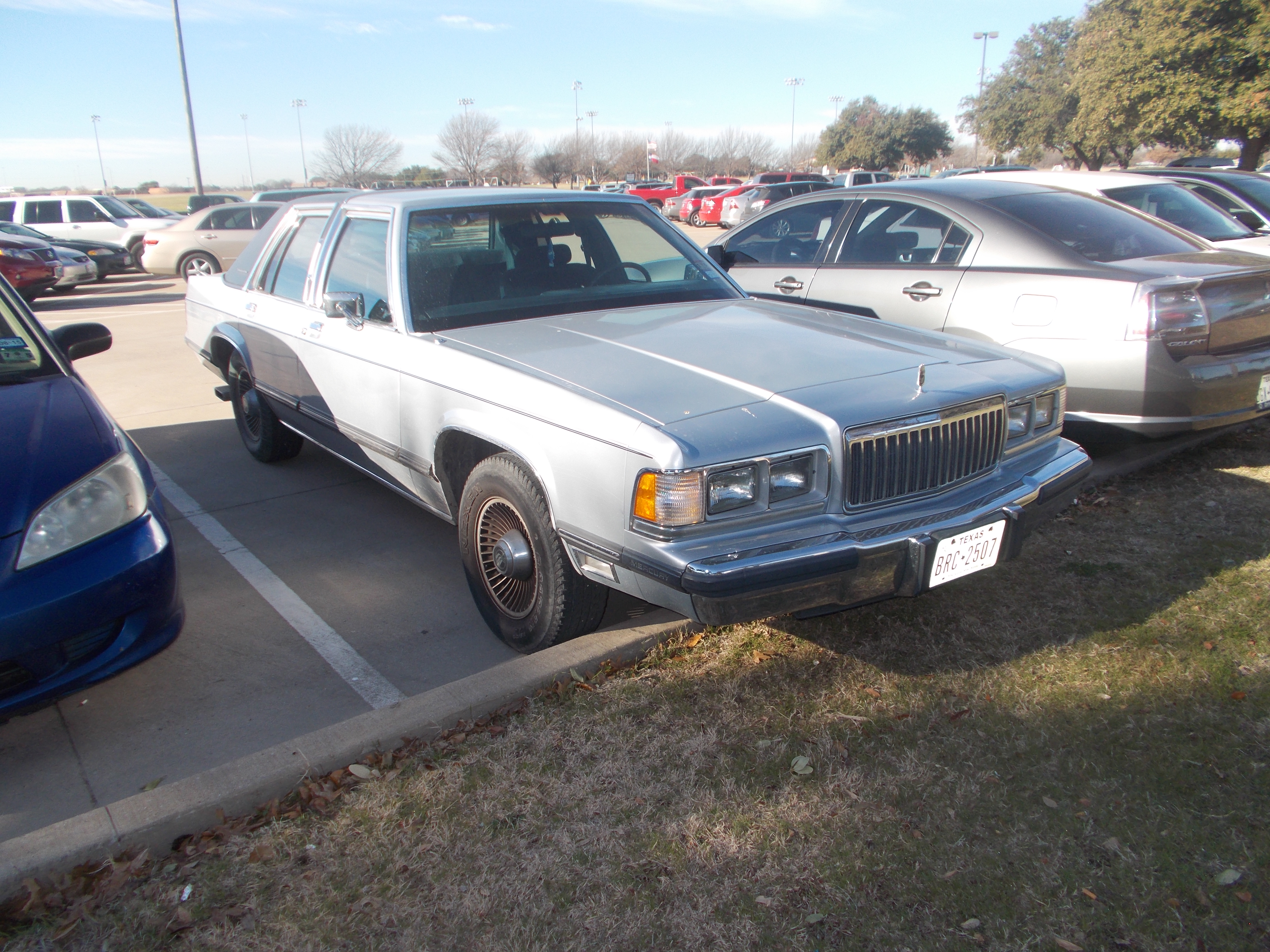 1991 Mercury Grand Marquis LS by TR0LLHAMMEREN on DeviantArt