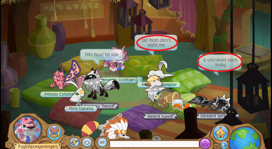 Animal Jam Pillow Room : Idiotic Adoption Begs in the Pillow Room on AJ 3 by YugiohPonyAvengers on DeviantArt