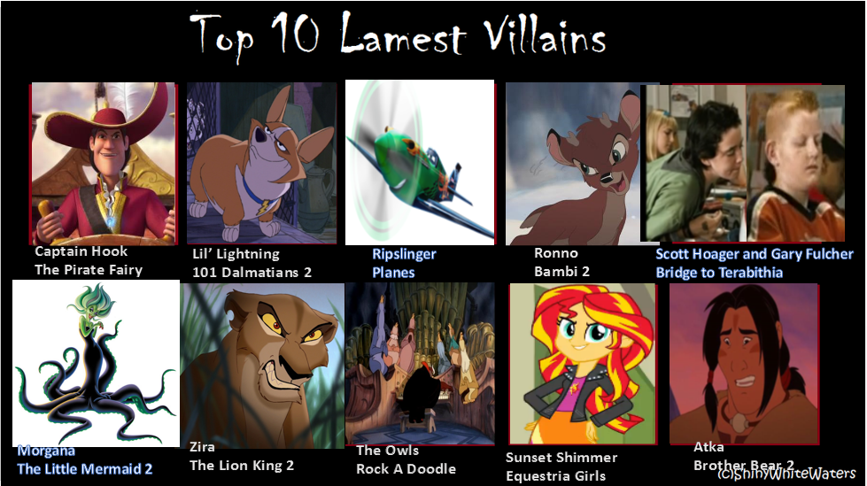 best girl villains