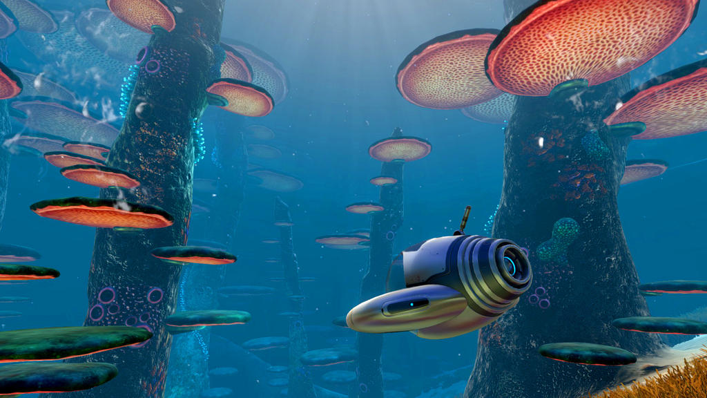 how to get to the 2nd alien base in subnautica