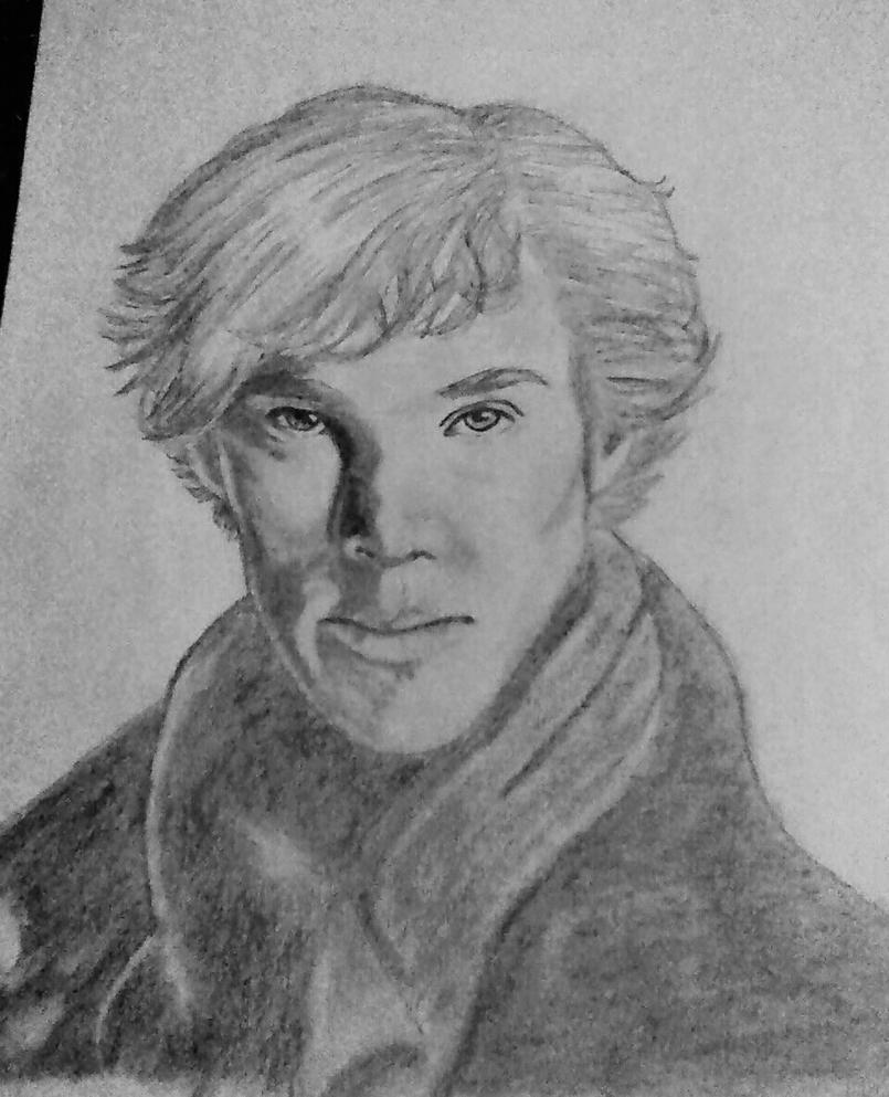 Benedict Cumberbatch Finished by midnightwisp