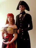 Pirate Sally and Jack 1 by damnitsasha