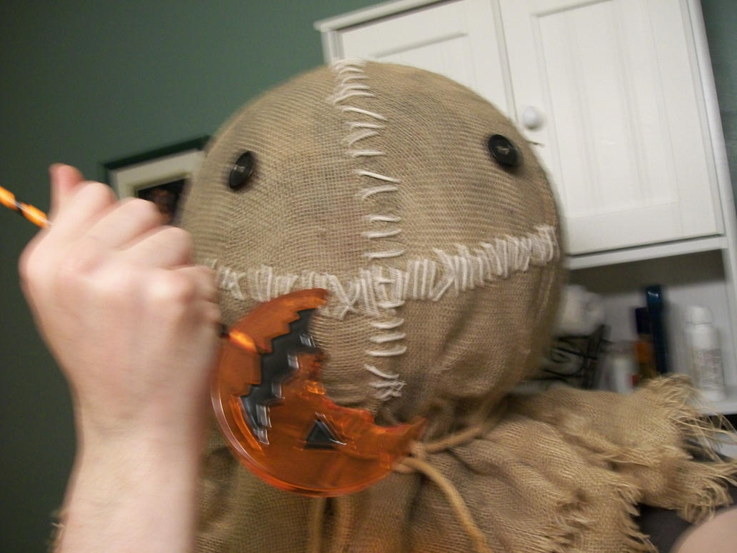 Trick R Treat Sam Mask by FullmetalotakuDCK