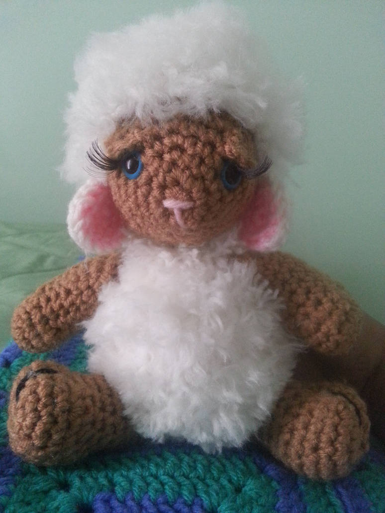 Blue eyed Lamb (Sold) by Untraceablemystic