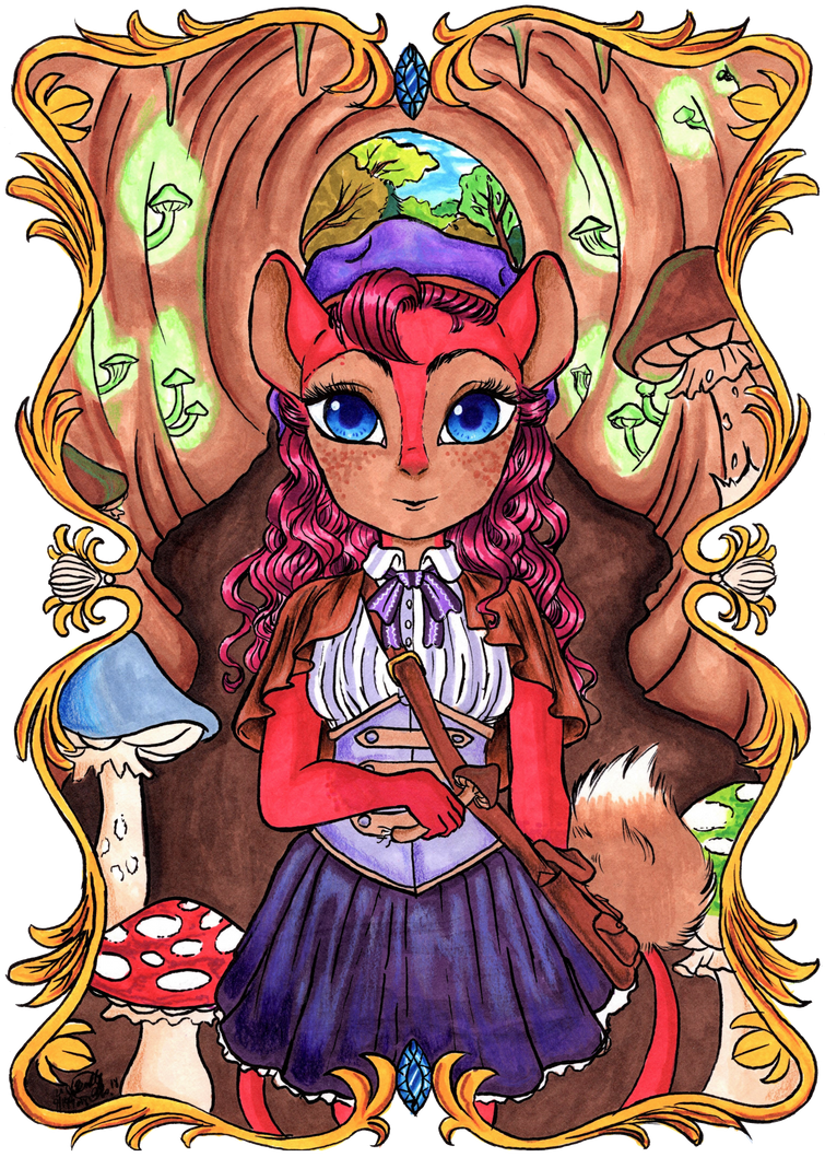 Rue the Mushroom Hunter by Untraceablemystic